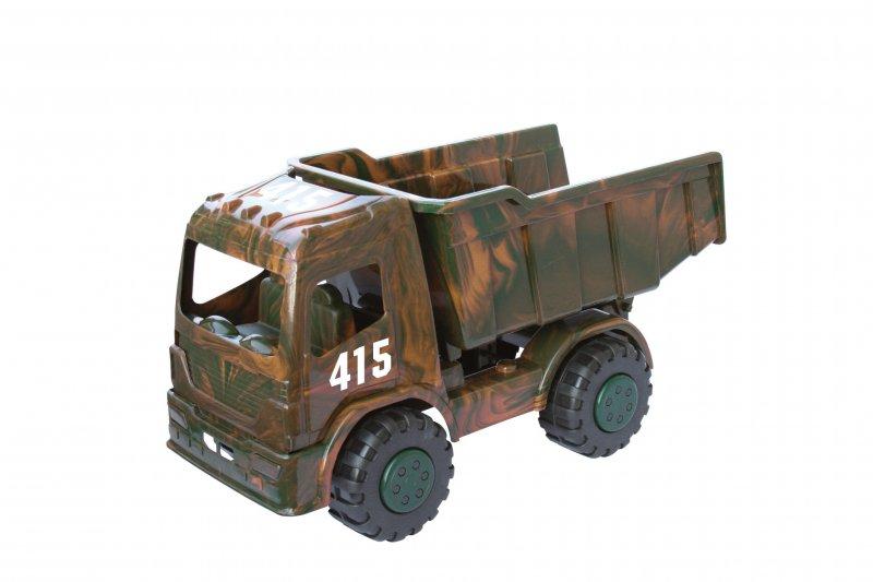 Nákladní auto na písek Adriatic Mini truck army 40 cm