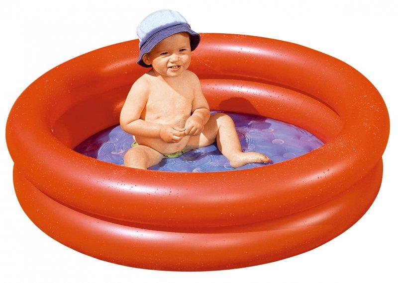 Dětský bazén s nafukovacím dnem 100x24 cm