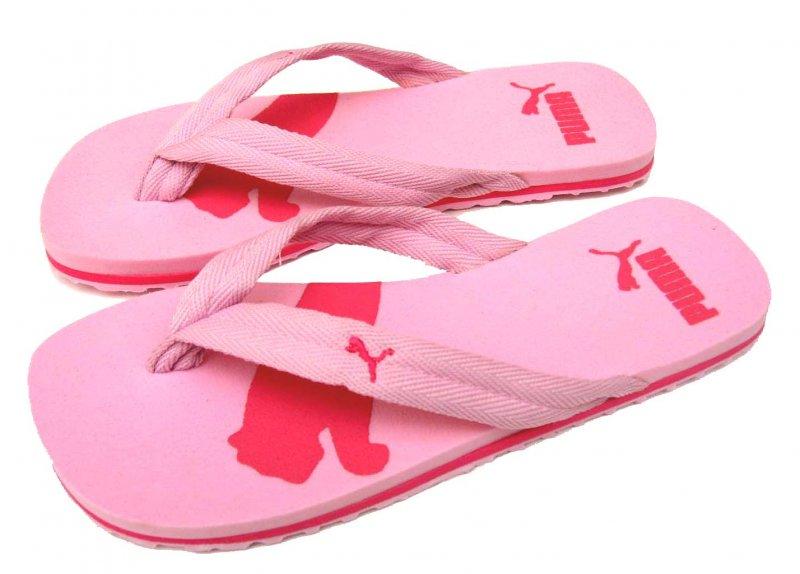 Dámské žabky Puma basic flip pink - hot pink