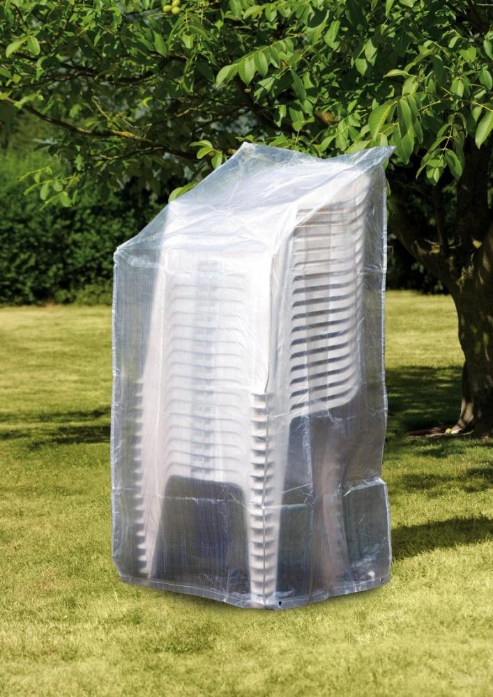 Krycí plachta (obal) na zahradní plastové židle
