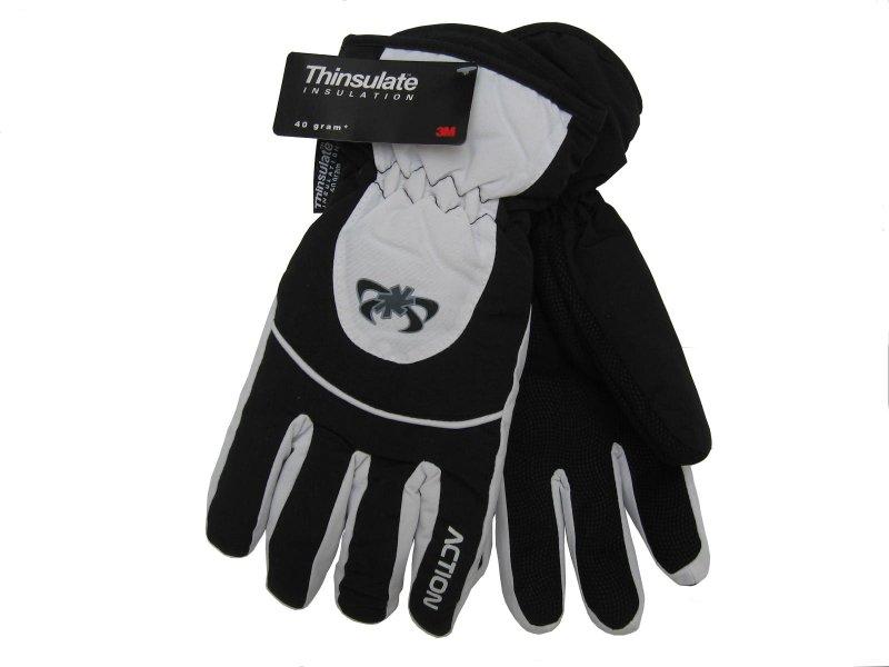 Image of Dámské lyžařské rukavice Action, černé