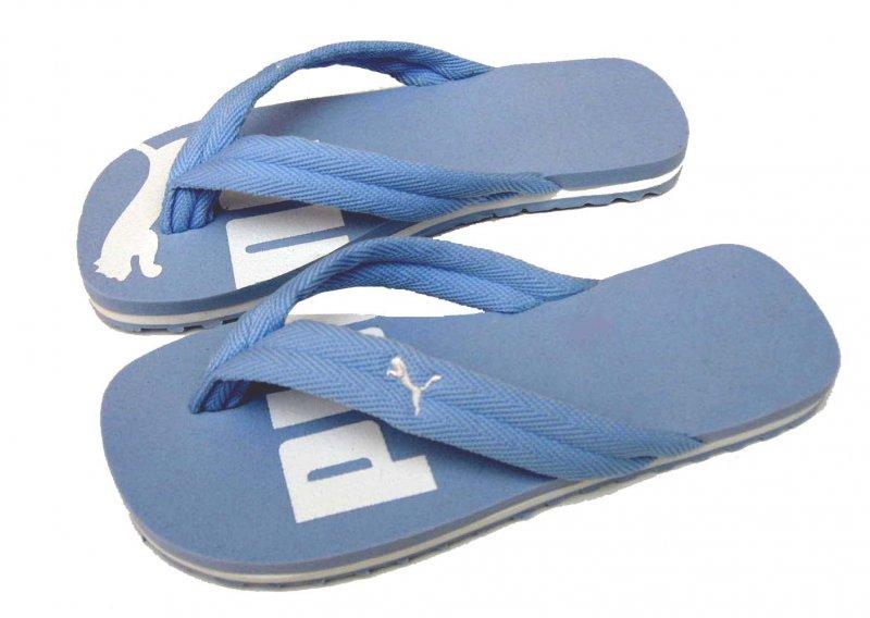 Dámské žabky Puma basic flip II powder blue